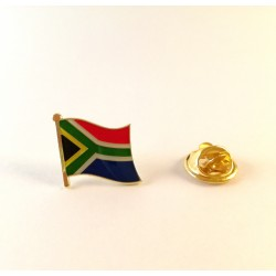 South African Flag Brooch