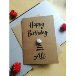 Happy Birthday (name)