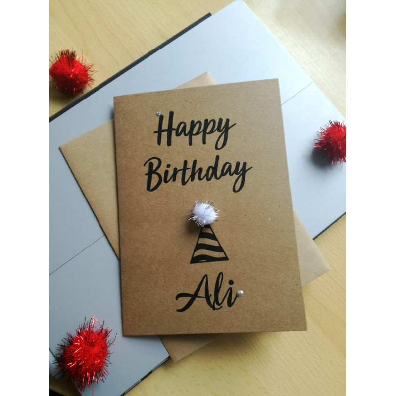 Custom Birthday Card