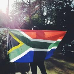 Big South African Flag