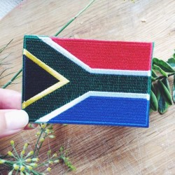 South Africa Embroidery Badge
